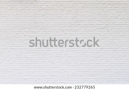 Shutterstock White brick wall for texture or background