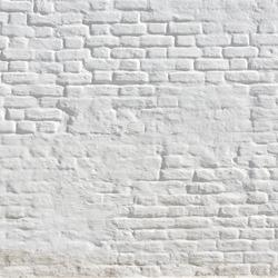 White brick wall frame background