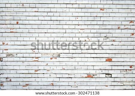 White bricks texture.