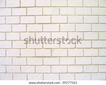 White bricks.Texture