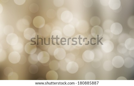 White bubbles on Light brown blurred background.