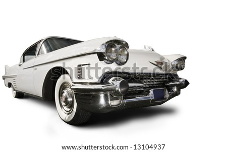 Cadillac on White Cadillac Stock Photo 13104937   Shutterstock