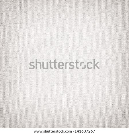 White canvas surface for texture or background