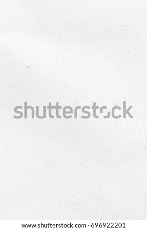 White canvas texture background - Shutterstock ID 696922201
