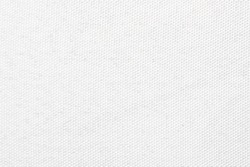 White canvas texture. Simple fabric background. Fiber structure pattern.