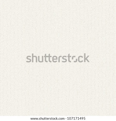 white canvas texture with delicate stripes pattern seamless background