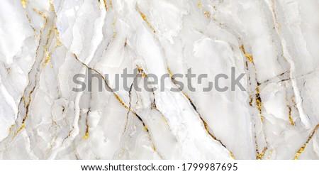 white carrara statuario marble texture background, calacatta glossy marble with grey streaks, satvario tiles, banco superwhite, ittalian blanco catedra stone texture for digital wall and floor tiles Stockfoto ©