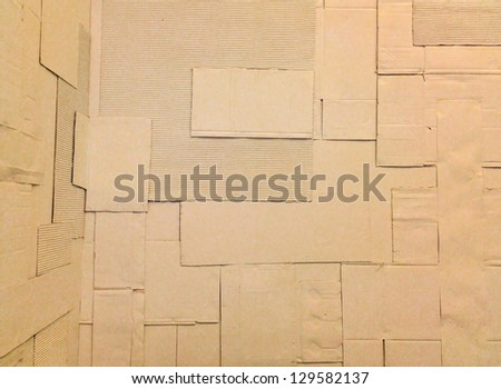 white carton crepe-paper texture or background