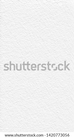 White cement or concrete wall texture for background and free space for text or pictures.