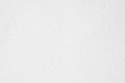 White cement or concrete wall texture for background, Empty space.