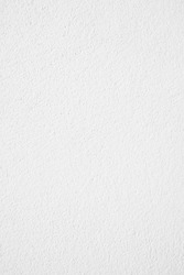 White cement or concrete wall texture for background, Empty space.Vertical image.