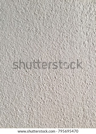 White cement wall I have to go to another. #795695470