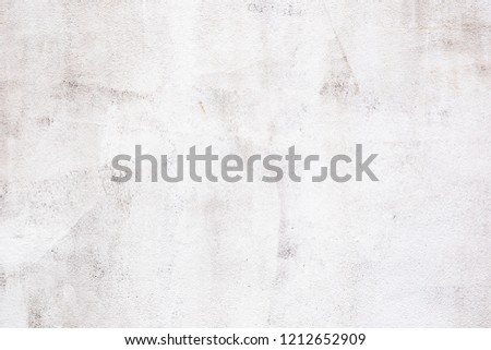 white cement wall texture background of natural cement or stone old texture as a retro pattern wall.Used for placing banner on concrete wall. #1212652909