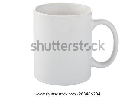 white ceramic cup #283466204