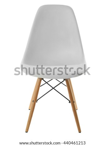 White chair, isolated on white #440461213