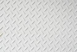 White checker grip metal plate panel