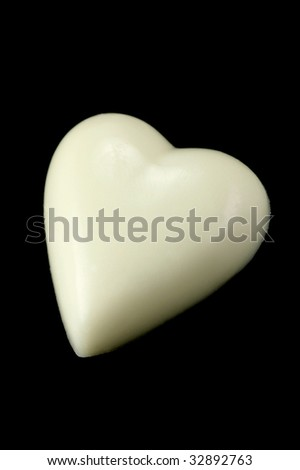 love heart chocolates. photography love heart. of