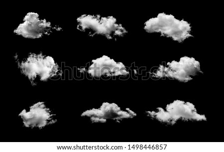 white clouds on black background #1498446857