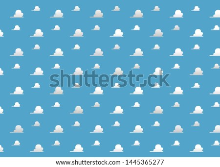 white clouds on blue sky background Сток-фото ©