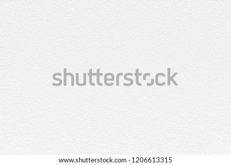 White color texture background for paper or wall background of any content. #1206613315