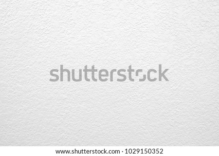 White color texture pattern abstract background, copy space for text, plaster texture, Concrete background gray suitable for use in classic design. - Shutterstock ID 1029150352