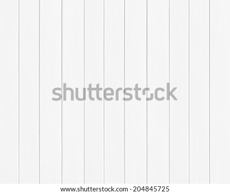 White colored wood plank texture as background
