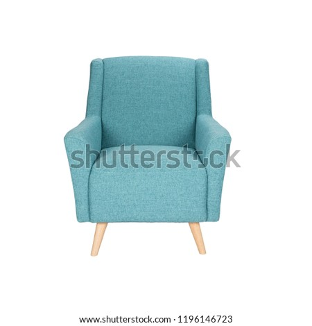 White colour chair, plastic, wooden, leather, modern design Chair isolated on white background. Series of furniture, Armchair, furniture for different spaces comfortable. Wooden chair office furniture #1196146723