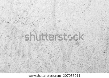 White concrete background cement textured with printer ink stain