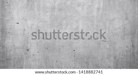 white concrete wall background or old texture as a retro pattern wall