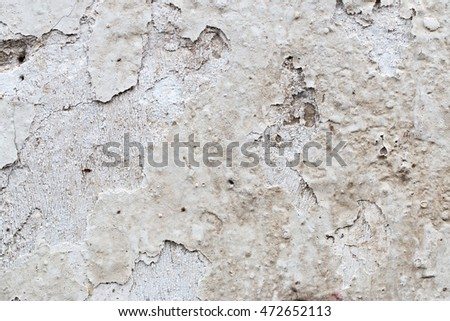 white concrete wall texture #472652113