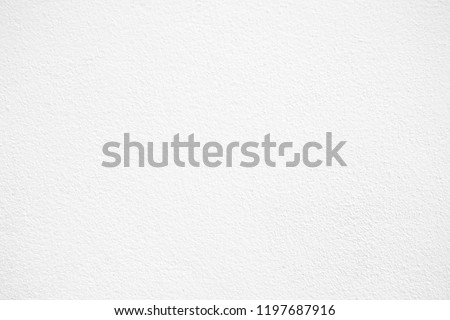 White Concrete Wall Texture Background. #1197687916