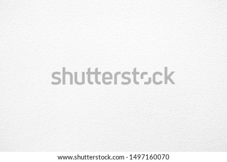 White Concrete Wall Texture Background, Suitable for Backdrop and Mockup. #1497160070