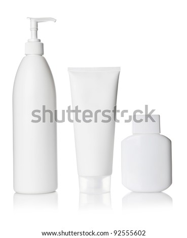 White Cosmetics bottle