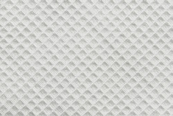 White cotton waffle fabric texture as background