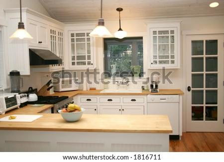 White Country Gourmet Kitchen