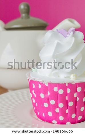 White cream Cupcake