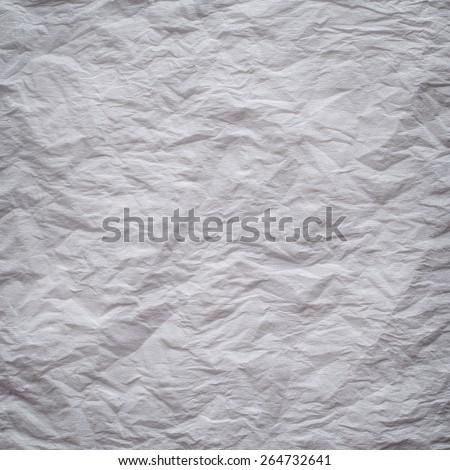White crepe paper background