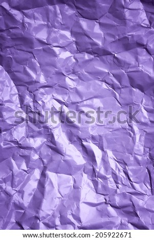 White crumpled paper #205922671