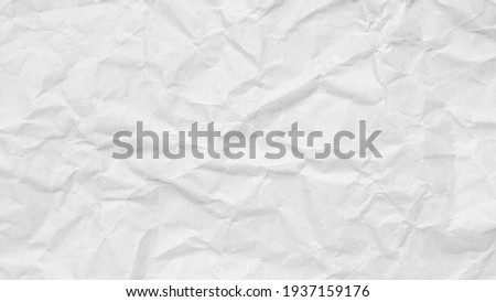 white crumpled paper texture background.  Stock photo ©