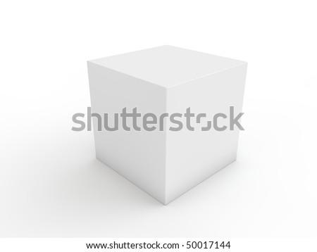 white cube ready for next design