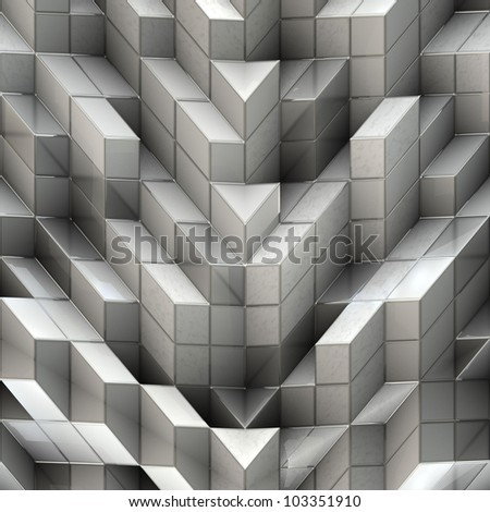 white cubes for background