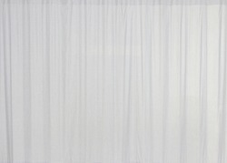 White curtain with texture background