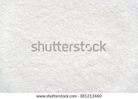 White delicate soft  background of plush fabric