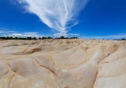 white desert tourist attractions on Bintan Island, imdonesia