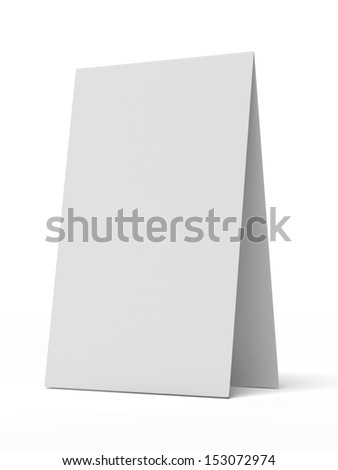 White Desk Display