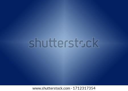 White diamond in a Blue gradient background Foto stock ©
