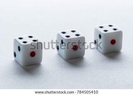free photos five dice in a row avopix com