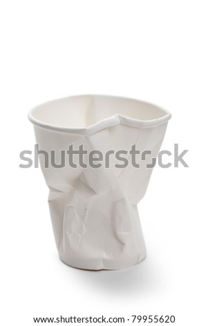 White Disposable Cup, Recycling