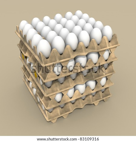 White Eggs package