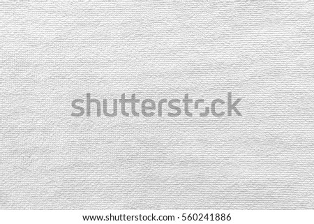 white fabric as background
